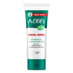Gel rửa mặt ngừa mụn Acnes 25+ Facial Wash, Tuýt 100g