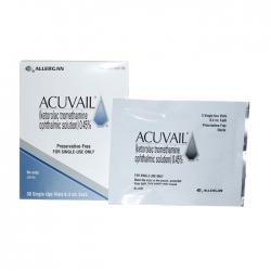 Thuốc Acuvail 4,5mg/ml, Hộp 30 ống x 0.4ml