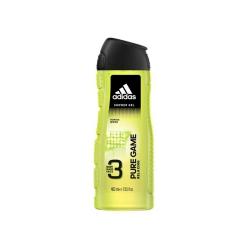 Sữa tắm, gội, rửa mặt Adidas Pure Game Relaxing (Body, Hair, Face) Shower Gel, Chai 400ml