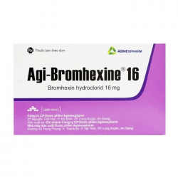 Agi-bromhexine 16 Agimexpharm 10 vỉ x 10 viên