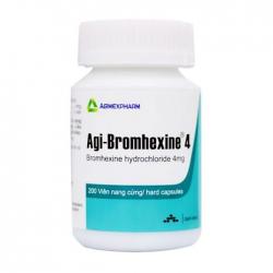 Agi-bromhexine 4 Agimexpharm 200 viên