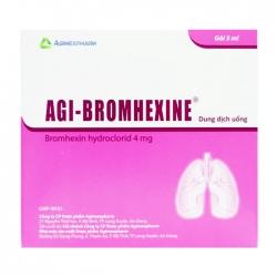 Agi-bromhexine 4 Agimexpharm 30 gói x 5ml