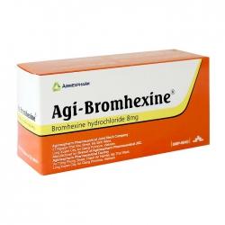 Agi-bromhexine 8 Agimexpharm 10 vỉ x 20 viên