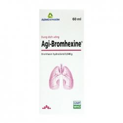 Agi-bromhexine Agimexpharm 60ml