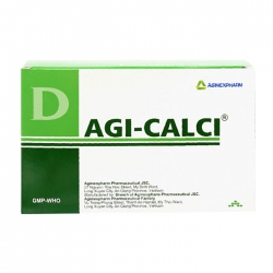 Agi-Calci Agimexpharm 20 vỉ x 10 viên