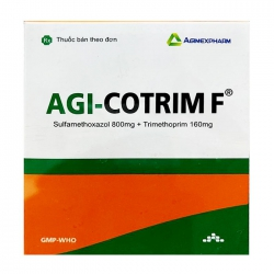Agi-cotrim F Agimexpharm 10 vỉ x 10 viên