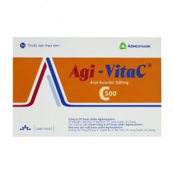 Agi-vita C 500 Agimexpharm 10 vỉ x 10 viên