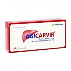 Agicarvir Agimexpharm 3 vỉ x 10 viên