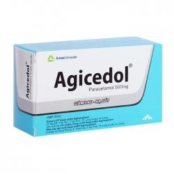 Agicedol 500 Agimexpharm 10 vỉ x 10 viên