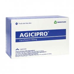 Agicipro 500 Agimexpharm 10 vỉ x 10 viên