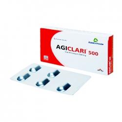 Agiclari 500 Agimexpharm 2 vỉ x 5 viên