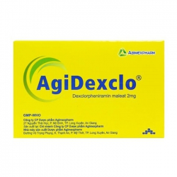 AgiDexclo Agimexpharm 10 vỉ x 10 viên