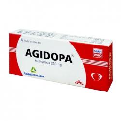 Agidopa 250mg Agimexpharm 2 vỉ x 10 viên