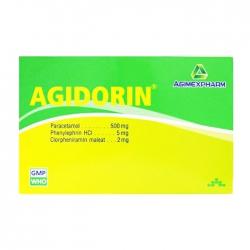 Agidorin Agimexpharm 25 vỉ x 4 viên