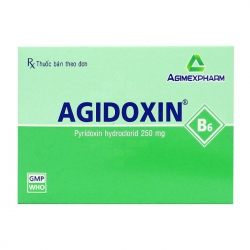 Agidoxin Agimexpharm 10 vỉ x 10 viên