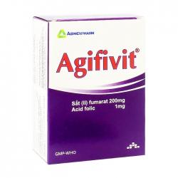 Agifivit Agimexpharm 10 vỉ x 10 viên