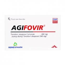 Agifovir Agimexpharm 3 vỉ x 10 viên