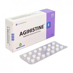 Agihistine 16 Agimexpharm 5 vỉ x 20 viên