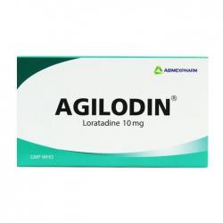 Agilodin 10 Agimexpharm 10 vỉ x 10 viên