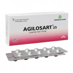 Agilosart 25 Agimexpharm 4 vỉ x 10 viên