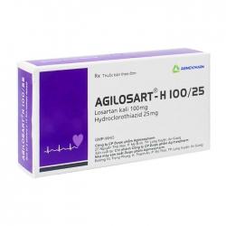 Agilosart – H 100/25 Agimexpharm 3 vỉ x 10 viên