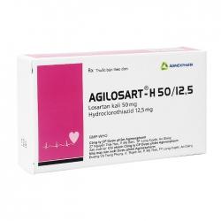 Agilosart – H 50/12,5 Agimexpharm 3 vỉ x 10 viên