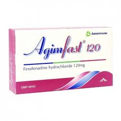 Agimfast 120 Agimexpharm 2 vỉ x 10 viên