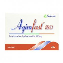 Agimfast 180 Agimexpharm 2 vỉ x 10 viên