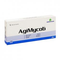 Agimycob Agimexpharm 1 vỉ x 10 viên
