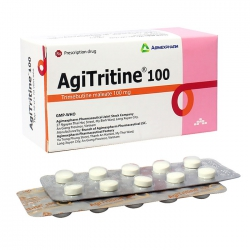 Agitritine 100mg Agimexpharm 10 vỉ x 10 viên