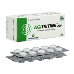 Agitritine 200mg Agimexpharm 5 vỉ x 10 viên