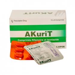 Thuốc Akurit, Hộp 90 viên