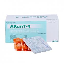 Thuốc Akurit-4, Hộp 90 viên