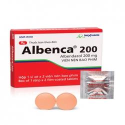 Thuốc kháng sinh Imexpharm Albenca 200mg, Hộp 2 viên