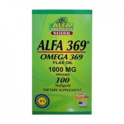 Alfa 369 Flax Oil 1000mg, Chai  100 viên