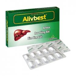 Alivbest Agimexpharm 3 vỉ x 10 viên – Viên uống bổ gan
