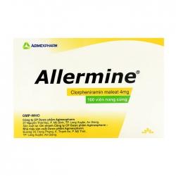 Allermine Agimexpharm 10 vỉ x 10 viên