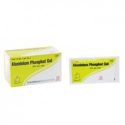 Pharmedic Alluminium Phosphat Gel, Hộp 10 gói x 20g