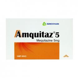 Amquitaz 5mg Agimexpharm 10 vỉ x 10 viên