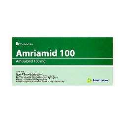 Amriamid 100 Agimexpharm 3 vỉ x 10 viên