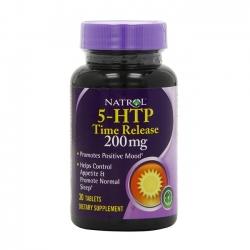 Ăn ngon ngủ yên cùng viên uống Natrol 5-HTP Time Release 200mg
