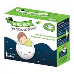 Bibo Ăn Ngủ Ngon tăng cường sức đề kháng, Hộp 4 vỉ x 5 ống