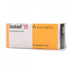 Anafranil 25mg Novartis 3 vỉ x 10 viên