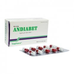 ANDIABET Traphaco Ổn định và điều hoà đường huyết