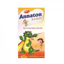 Giúp trẻ thèm ăn tự nhiên Annaton Kiddi 100ml