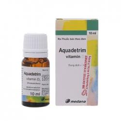 Thuốc Aquadetrim Vitamin D3, Hộp 10ml