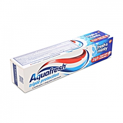 Kem đánh răng Aquafresh Triple Protection Fresh & Minty, Tuýp 100ml
