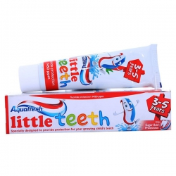 Kem đánh răng trẻ em Aquafresh Little Teeth 4 - 6 Tuổi 50ml