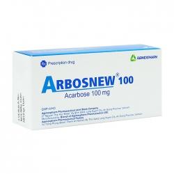 Arbosnew 100 Agimexpharm 3 vỉ x 10 viên