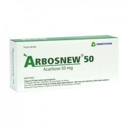Arbosnew 50 Agimexpharm 3 vỉ x 10 viên